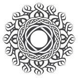 Mandala στο εσωτερικό ύφος Στοκ Εικόνες
