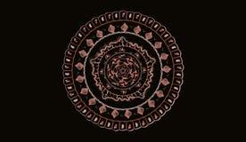 Mandala στο ροζ Στοκ εικόνα με δικαίωμα ελεύθερης χρήσης
