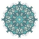 Mandala στο υπόβαθρο διανυσματική απεικόνιση