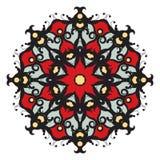 Mandala στο υπόβαθρο Στοκ Εικόνες