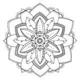 Mandala στο χρώμα Στοκ Εικόνες
