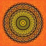 mandala Στρογγυλό σχέδιο διακοσμήσεων ελεύθερη απεικόνιση δικαιώματος