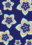 Mandala σχεδίων λουλουδιών Στοκ φωτογραφία με δικαίωμα ελεύθερης χρήσης