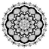 Mandala της πυρκαγιάς και του ξύλου Στοκ εικόνες με δικαίωμα ελεύθερης χρήσης