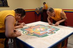 Mandala του οίκτου Στοκ φωτογραφία με δικαίωμα ελεύθερης χρήσης