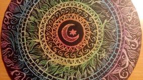 Mandala φεγγαριών Στοκ Φωτογραφία