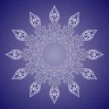Mandala, φυλετική εθνική διακόσμηση, διανυσματική τέχνη Στοκ Φωτογραφίες