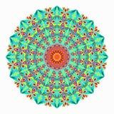 mandala χρωματισμένα εκλεκτής ποιότητας διακοσμητικά στοιχεία διανυσματική απεικόνιση