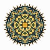 mandala χρωματισμένα εκλεκτής ποιότητας διακοσμητικά στοιχεία ελεύθερη απεικόνιση δικαιώματος