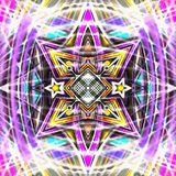 Mandala ψηφιακό NU στοκ εικόνες με δικαίωμα ελεύθερης χρήσης