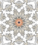 Mandala. Vector graphic line-art colorful mandala stock illustration