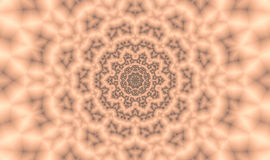 Mandala. The abstract picture. Digital art Royalty Free Stock Photo