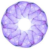 Mandala. For seven chakra on the white Royalty Free Stock Photography
