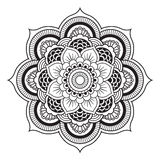Mandala. Illustration. Round Ornament Pattern Royalty Free Stock Image