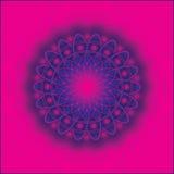 Mandala. Illustration of mandala religious symbol Royalty Free Stock Photo