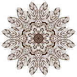 mandala royaltyfri illustrationer