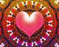 Καθολικό ενεργειακό mandala αγάπης Στοκ φωτογραφία με δικαίωμα ελεύθερης χρήσης