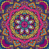 mandala vektor illustrationer