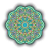 Mandala-08 stock illustratie