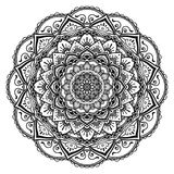 mandala illustration libre de droits