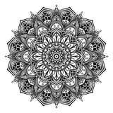 mandala illustration de vecteur
