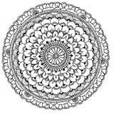 Mandala aan kleur Stock Fotografie