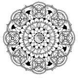 Mandala aan kleur Stock Foto's