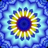 Mandala abstract blurred image Stock Photography