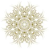 Mandala abstract floral. Decorate ornate plant Royalty Free Stock Photo