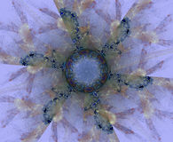 Mandala abstract forms Stock Images
