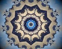 Mandala abstracta del espejo de la ciudad libre illustration