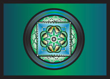 Mandala abstrait illustration stock