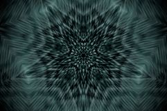 Mandala abstrait de rayon X illustration de vecteur