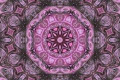 mandala abstrakcyjne Hipnotyczny psychodeliczny tło bezszwowy wzoru zdjęcie royalty free