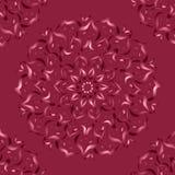 mandala Abstrakt teckning med blom- motiv Arkivbilder