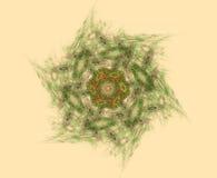 Mandala abstrakta formy ilustracji