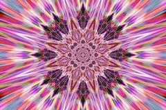 Mandala abstrata Imagens de Stock