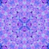 Mandala abstrata da flor Imagens de Stock
