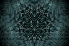 Mandala abstrata do raio X ilustração do vetor