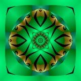 Mandala africana di meditazione Fotografia Stock