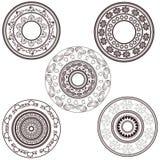 Mandala ajustada no estilo do vintage Imagem de Stock