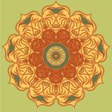 Mandala araba Immagini Stock Libere da Diritti