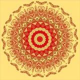 Mandala araba Fotografia Stock