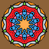 Mandala araba Fotografie Stock