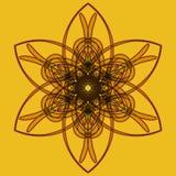 Mandala araba di colore Immagine Stock
