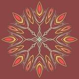 Mandala araba di colore Immagini Stock