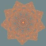 Mandala araba di colore Fotografia Stock Libera da Diritti