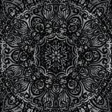 Mandala argenté Image libre de droits