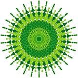 Mandala artística ilustración del vector
