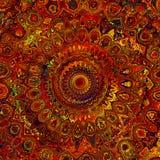Mandala Art astratta immagini stock